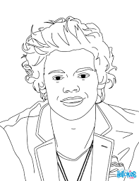 Coloring Pages For Girls One Direction