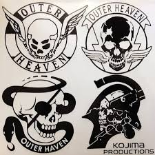 Metal Gear Solid Kojima Game Outer Heaven Vinyl Decal Sticker Etsy