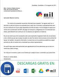 Carta De Agradecimiento Formatos Y Ejemplos Word Para Imprimir