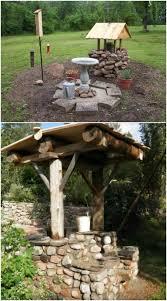 10 easy diy garden wishing wells you