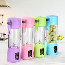 380ml Portable Blender Electric Juicer Cup USB Rechargeable ...
