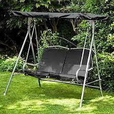 gardenista garden swing canopy