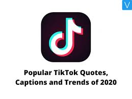 popular tiktok quotes captions and trends of version weekly