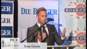 Mr PE 2014 Sponsors Evening: Ivan Green - YouTube