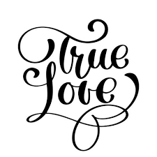 true love happy valentines day card