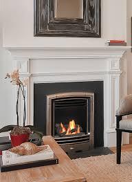 bolero gas fireplace insert for small