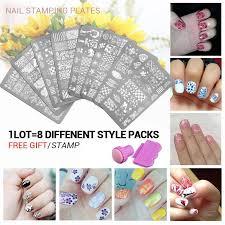 whole nail stencils set 3 nail art
