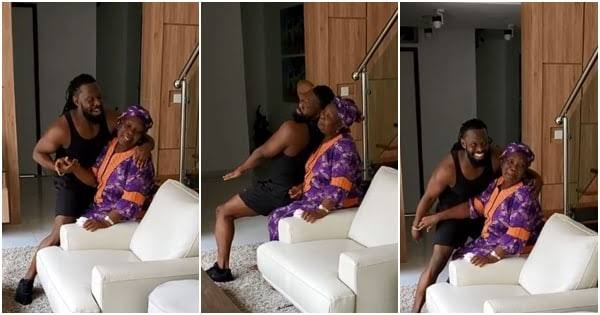 Image result for Timaya spotted being goofy with his mom in cute video Read more: https://www.legit.ng/1271183-timaya-spotted-goofy-mom-cute-video.html""