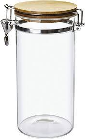 food storage jar 40oz 1200ml tall
