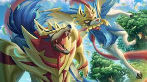 Zamazenta and Zacian from Pokemon Sword and Shield Anime Wallpaper ...