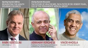 Abraham Verghese, Vinod Khosla, Robert Pearl - The Future of Healthcare -  Stanford Innovation Summit