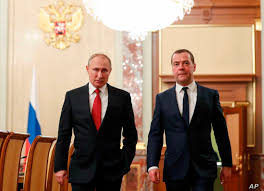 Russian Prime Minister Resigns as Putin Hints at Constitutional Reforms |  Voice of America - English