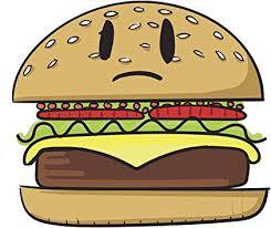 Amazon Com Sad Sesame Seed Bun Hamburger Emoji Vinyl Decal Sticker 4 Tall Automotive