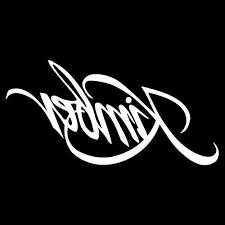 Kimber Firearm Logo Vinyl 5 Wide Decal