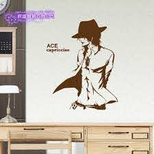 Ace Wall Decal One Piece Vinyl Wall Stickers Decal Decor Home Decorative Decoration Anime One Piece Car Sticker Decorative Home Decor Home Decorvinyl Decal Aliexpress