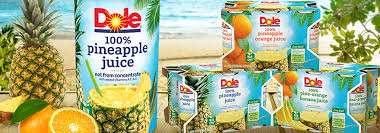 is dole pineapple juice good for you