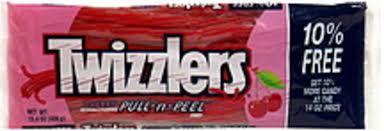 twizzlers cherry pull n l 15 4 oz
