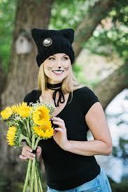 diy black cat makeup for