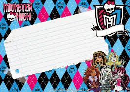 Sgblogosfera Kit Monster High Con Imagenes Cumpleanos De