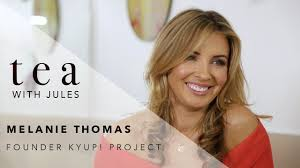 Tea with Jules with KYUP! Project founder Melanie Thomas - YouTube