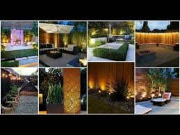 16 Superb Garden Fence Lighting Ideas Youtube