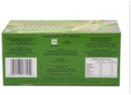 twinings green tea earlgrey 25 tea bags