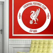 Liverpool Football Club Wall Art Sticker Vinyl Decal Various Sizes Liverpool Football Club Sticker Wall Art Liverpool Football