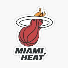 Miami Heat Stickers Redbubble
