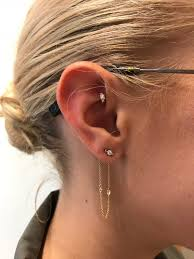 i tried the curated ear trend it made