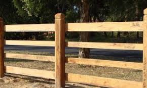 Traditional Post And Rail Fencing Mika Timber