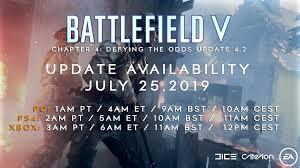 Battlefield V - Update 4.2 : BattlefieldV