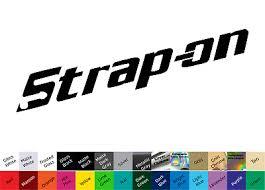 Strap On Decal Sticker Tools Tool Box Technician Mechanic Joke Spoof 4 99 Picclick