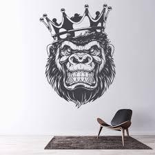 King Gorilla Wall Decal Sticker Ws 50399 Ebay