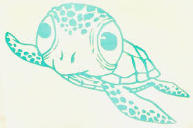Sea Turtle Vinyl Decal Sticker Salt Life Oce