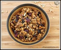 delicious homemade granola gluten free