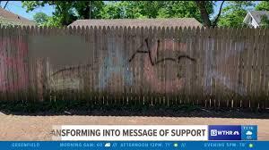 Irvington Dad To Create Something Bigger After His Black Lives Matter Sign Is Defaced Wthr Com