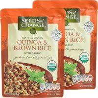 organic quinoa brown rice