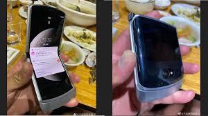 Motorola Razr 5G Leaked Live Images Show Redesigned Chin, Rounded Edges