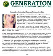Veteran Joins the Team | Generation Contracting