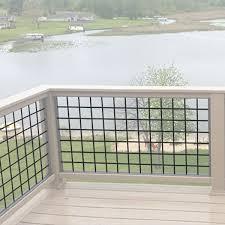 Hog Wire Fence Panels Wild Hog Railing Decksdirect