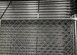 Temporary Security Construction Fencing Panels 1 83mx3 65m Mesh 57mmx57mm Diameter3 2mm 10ga For Sale Construction Fence Panels Manufacturer From China 108337677