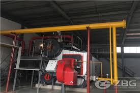 hot gas heater hot water boiler