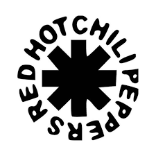 Red Hot Chili Peppers Logo Vinyl Decal Sticker
