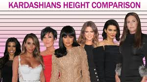 Kardashians Height Comparison - YouTube