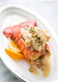 Broiled Lobster Tail {with Brown Butter ...