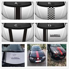 Car Hood Body Stripe Vinyl Racing Decal Head Sticker For Lada Granta Kalina Priora Vesta Xray Largus 4x4 Car Stickers Aliexpress