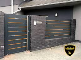 Alu Fence Premium Modern Design In 2020 Fence Gate Design Modern Fence Design House Fence Design