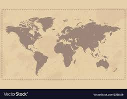 vine world map royalty free vector image
