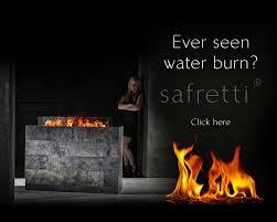 fireplaces with bio ethanol safretti