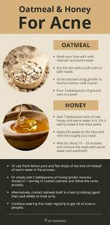 oatmeal face mask for acne masks